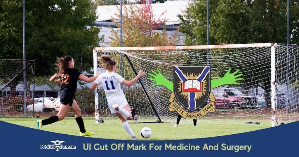 Ui cut off mark for medicine and surgery